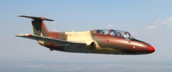 Speciální LET proudovým letounem L29 DELFÍN