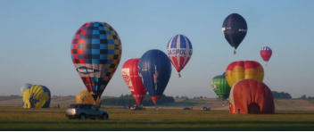 """Vyhlídkový LET balónem """"romantik"""" (2xletenka)"""