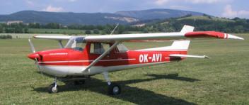 Vyhlídkový LET - Cessna 152 (1xcestující) Roudnice