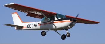 Vyhlídkový LET - Cessna 152 (1xcestující) Jihlava