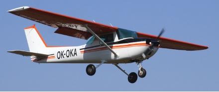 Vyhlídkový LET - Cessna 150 (1xcestující) Bubovice