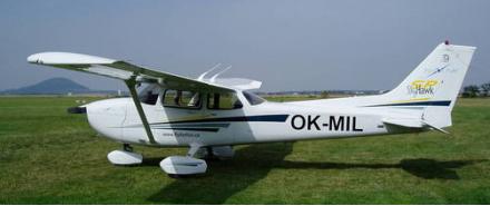 Vyhlídkový LET - Cessna 172 (3xcestující) Sazená