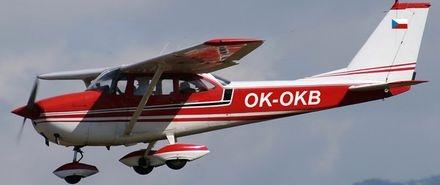 Vyhlídkový LET - Cessna 172 3xcestující) Bubovice