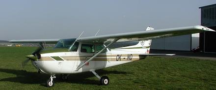 Vyhlídkový LET - Cessna 172 (3xcestující) Benešov