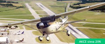 Vyhlídkový LET - Cessna 172 (3xcestující) Roudnice