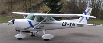 Vyhlídkový LET - Cessna 152 (1xcestující) Benešov