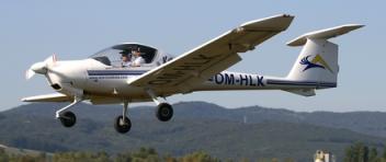 Vyhlídkový LET - DA-20 Katana (1xcestující) Hosín