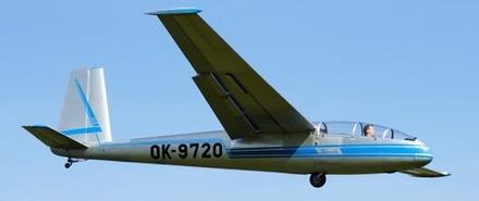 LET kluzákem - Blaník L13 - aerovlek (1xcestující)