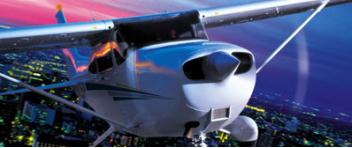 Noční LET nad Ostravou - Cessna 172 (3xcestující)