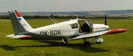 Vyhlídkový LET - Piper PA-28 (3xcestující) Přibyslav