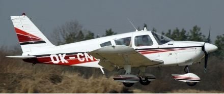 Vyhlídkový LET - Piper PA-28 (3xcestující) Slaný