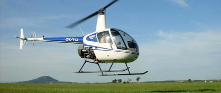 LET vrtulníkem Robinson R22 (1xcestující) Sazená