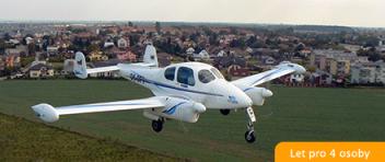 Vyhlídkový LET - L-200 Morava (4xcestující) Brno