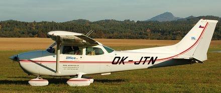 Vyhlídkový LET - Cessna 172 (3xcestující) Česká Lípa
