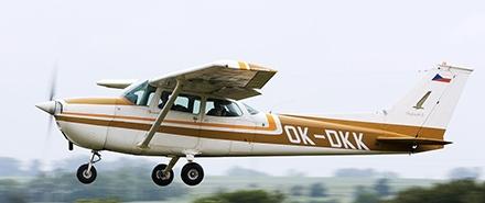 Vyhlídkový LET - Cessna 172 (3xcestující) Břeclav