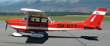 Vyhlídkový LET - Cessna 172 (3xcestující) Jaroměř