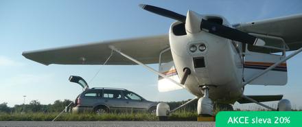 Vyhlídkový LET - Cessna 172 (3xcestující) Ostrava