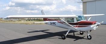 Vyhlídkový LET - Cessna 152 (1xcestující) Příbram