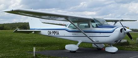 Vyhlídkový LET - Cessna 172 (3xcestující) Příbram