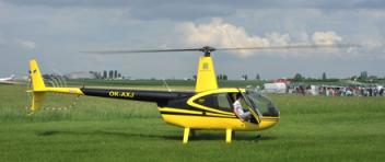 LET vrtulníkem Robinson R44 (3xcestující) Brno