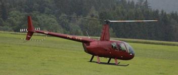 LET vrtulníkem Robinson R44 (3xcestující) Jihlava