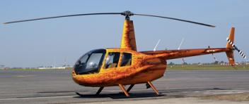 LET vrtulníkem Robinson R44 (3xcestující) Ostrava