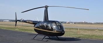 LET vrtulníkem Robinson R44 (3xcestující) Sazená