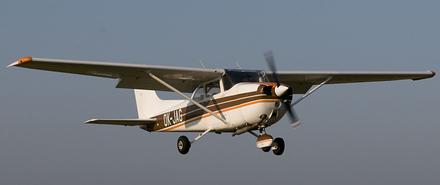 Vyhlídkový LET - Cessna 172 (3xcestující) Vyškov