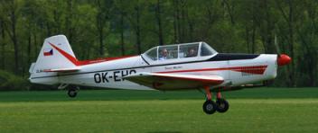 Akrobatický LET - Zlín Z-526F (1xcestující)